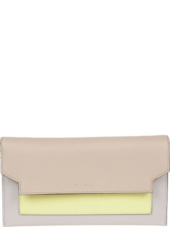 Marni Plain Long Wallet
