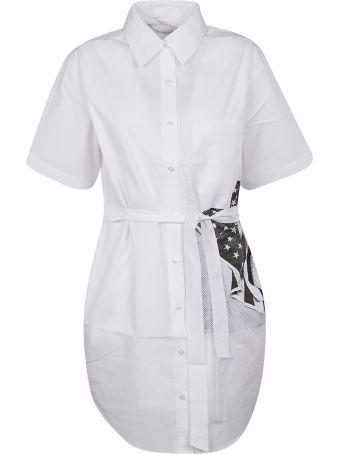 Calvin Klein Flag Print Dress