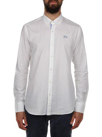 La Martina Cotton Slim Fit Shirt