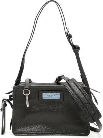 Prada Etiquette Logo Camera Bag