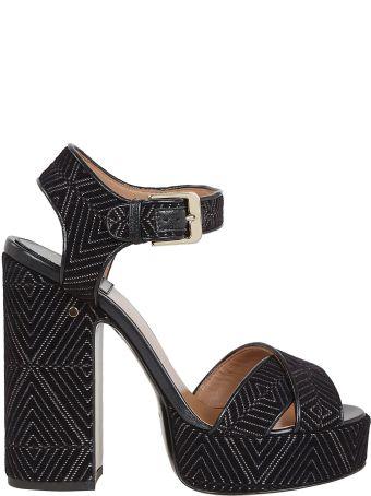 Laurence Dacade Embroidered Platform Sandals