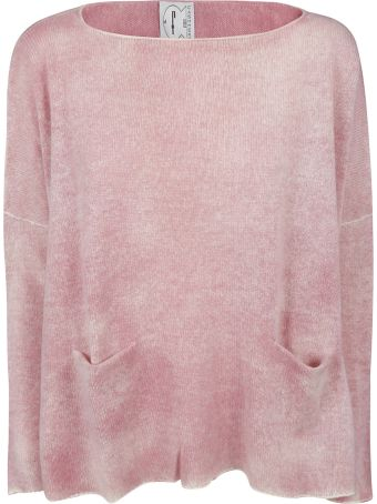 f cashmere Oversized Pocket Detail Jumper
