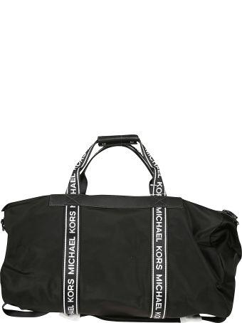 Michael Kors Appliqué Logo Duffle Bag