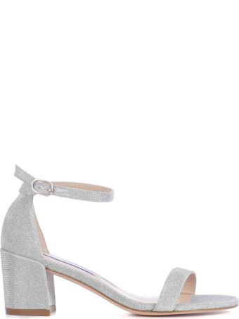 Stuart Weitzman Simple Block-heel Sandals