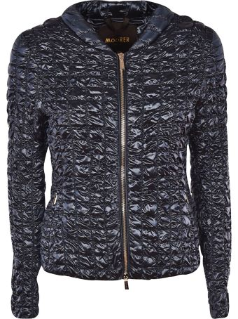 Moorer Zip-up Padded Jacket