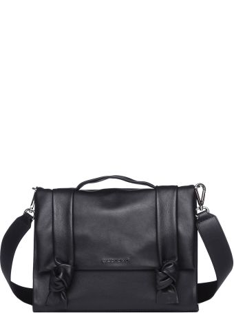 Orciani Small Leather Bella Bag