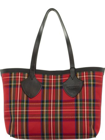 Burberry Reversible Vintage Checked Tote