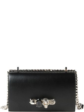 Alexander McQueen Jeweled Shoulder Bag