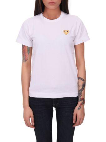 Comme des Garçons Play Comme Des Garçons White T-shirt