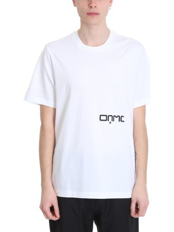OAMC Earth White Cotton T-shirt