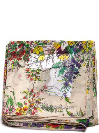 Blumarine Floral Print Scarf