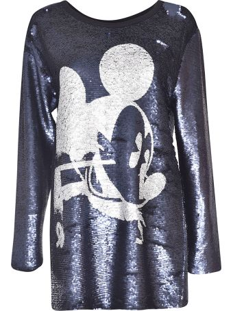Faith Connexion Mickey Sequined Blouse
