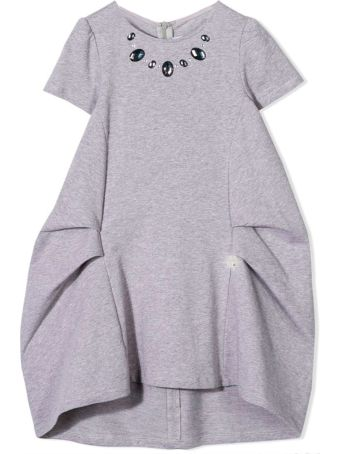 Simonetta Gray Dress Kids