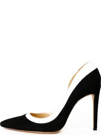 Alexandre Birman Wavee Pump Suede Black