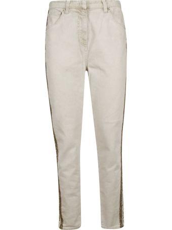 Blumarine Appliqued Jeans