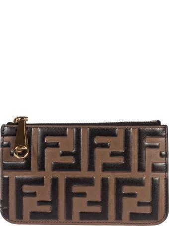 Fendi Ff Logo Wallet