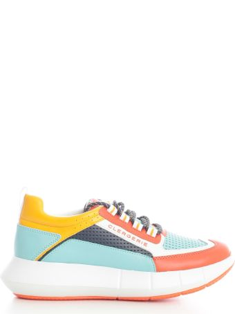 Clergerie Lace Up Sneakers Calf