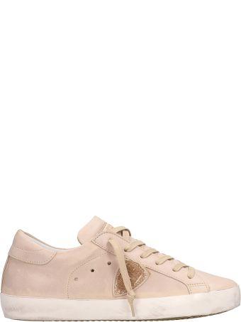 Philippe Model Paris Beige Sneakers
