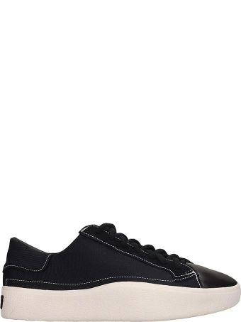 Y-3 Black Canvas Tangustu Sneakers