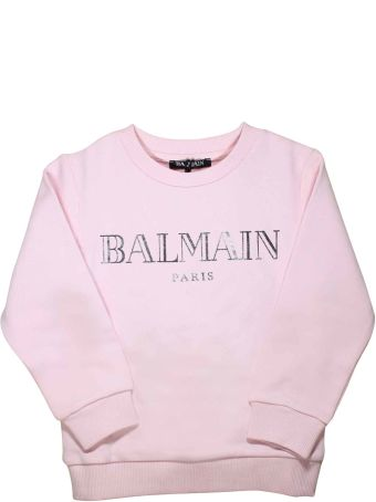 Balmain Pink Swatershirt