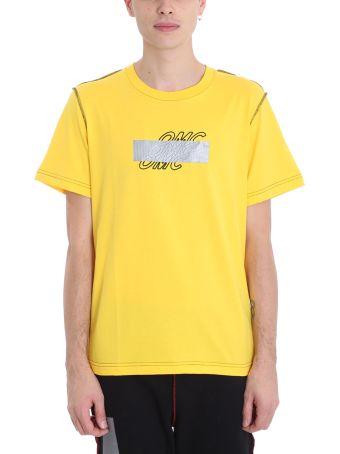 OMC Yellow Cotton T-shirt