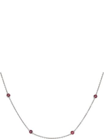 Lo Spazio Jewelry Lo Spazio Passion pink Topaz Necklace