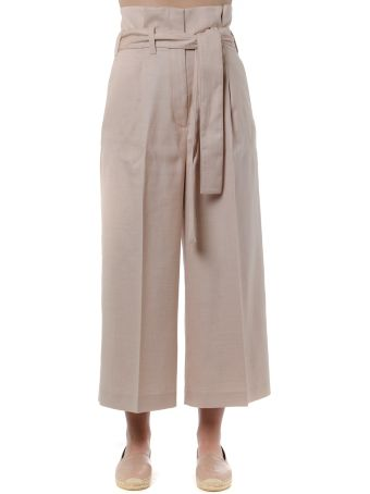 Stella McCartney Candle Rose High-waisted Pants