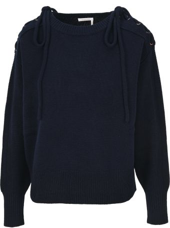 See by Chloé See By Chloe' Drawstring Shoulder Jumper