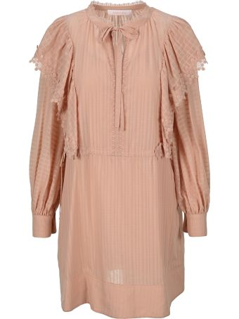 See by Chloé See By Chloe' Lace-trimmed Dress