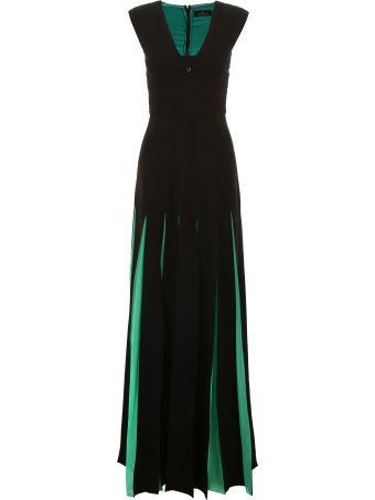 Capucci Bicolor Long Dress
