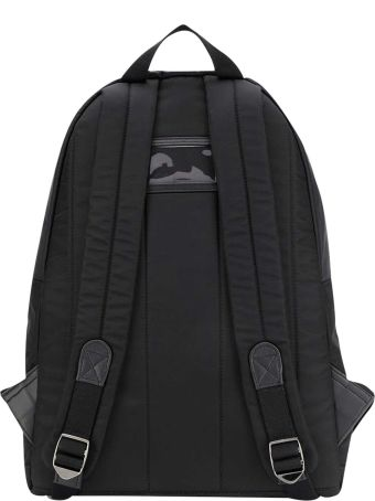 Dolce & Gabbana Black Backpack With Frontal Logo