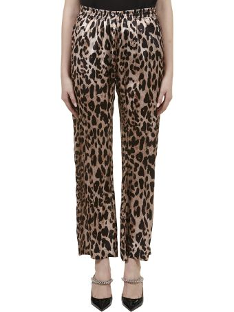 Paco Rabanne Leopard Trousers