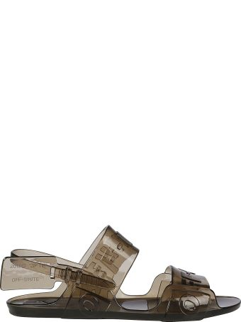 Off-White Jelly Sandal