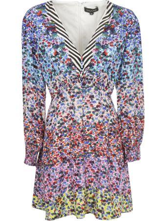 Saloni Printed Dress