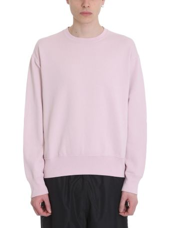 Our Legacy Patch Pink Cotton Sweatshirt
