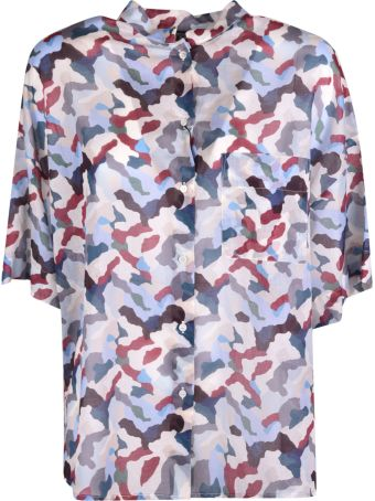 Weekend Max Mara Camouflage Print Top