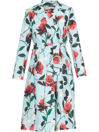 Alice + Olivia Floral Patterned Coat
