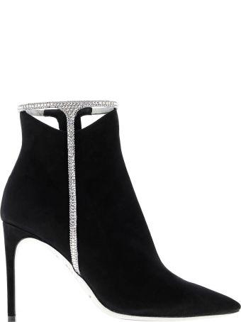 René Caovilla Rene Caovilla Heeled Booties Shoes Women Rene Caovilla