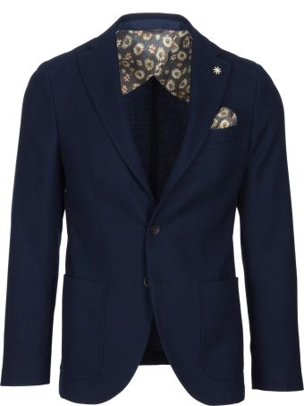 Manuel Ritz Wool And Cotton Jacket