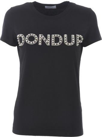 Dondup Studded Logo T-shirt
