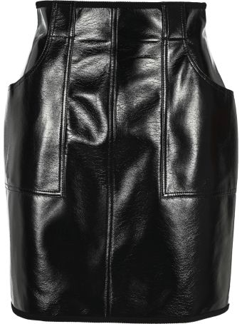 Philosophy di Lorenzo Serafini Philosophy Vinyl Mini Skirt