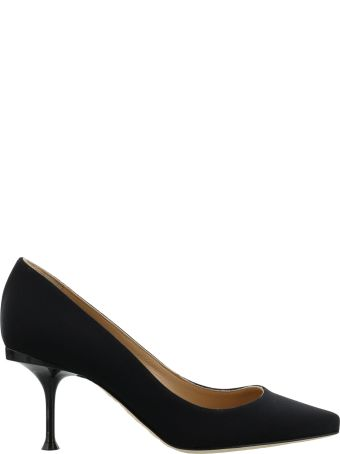Sergio Rossi Court Shoes With Back Logo Plaque