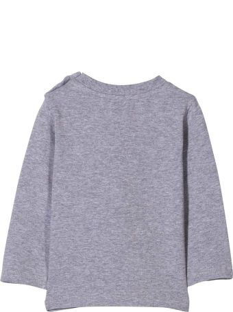 Moschino Grey T-shirt With Frontal Toy And Logo Press