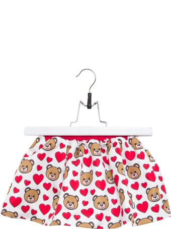 Moschino Cloud Toy Hearts Mini-skirt
