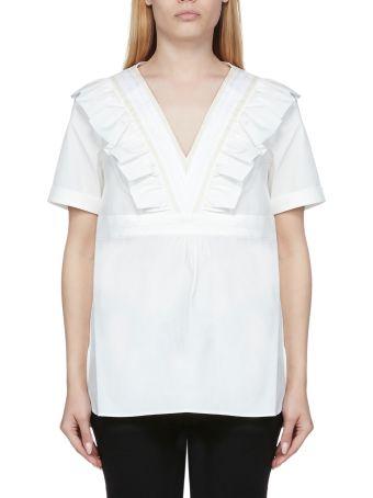 A.P.C. Ruffled T-shirt