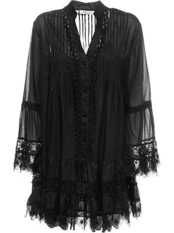 Blumarine Lace Trim Dress