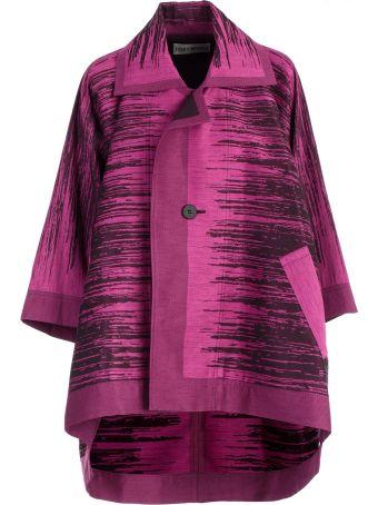 Issey Miyake Oversized Coat