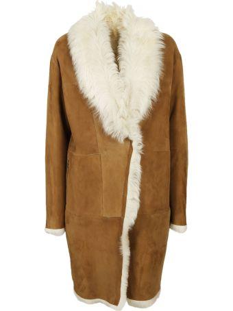 S.W.O.R.D 6.6.44 Fur Collar Coat