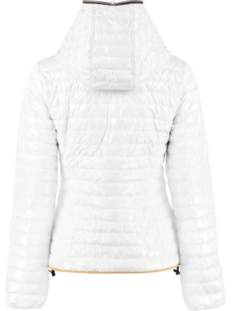 Duvetica Hooded Short Down Jacket