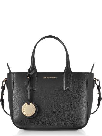Emporio Armani Small Eco Leather Tote Bag